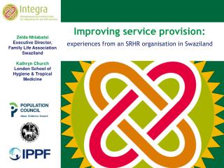 Improving service provision :