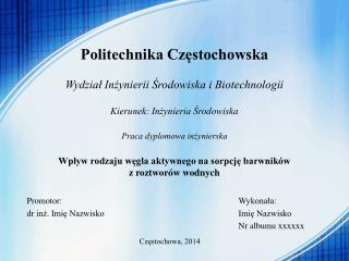 Częstochowa, 2014