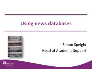 Using news databases