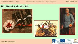 80.1 Revoluční rok 1848
