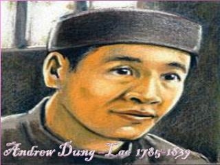 Andrew  Dung –Lac  1785-1839