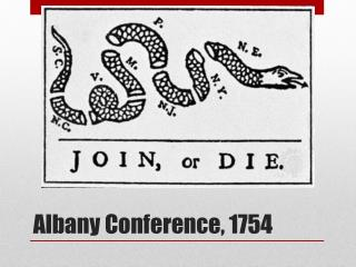Albany Conference, 1754