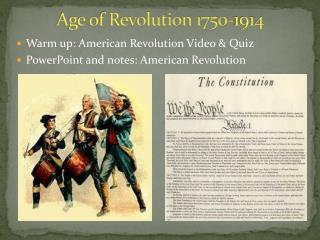 Age of Revolution 1750-1914