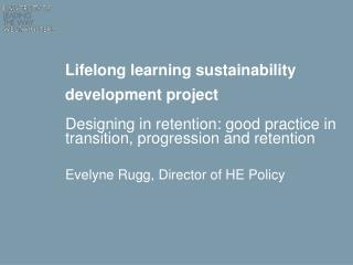 Lifelong learning sustainability development project