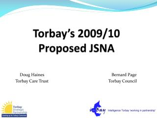 Torbay's 2009/10 Proposed JSNA