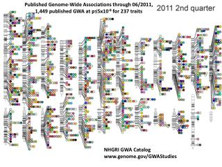Published Genome-Wide Associations through 06/2011,