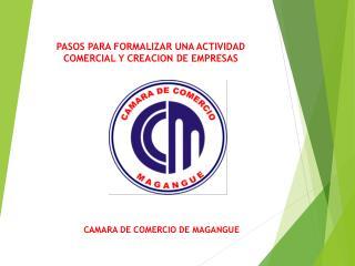 PASOS PARA FORMALIZAR UNA ACTIVIDAD COMERCIAL Y CREACION DE EMPRESAS