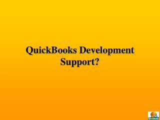 QuickBooks Development
