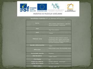 Identifikátor materiálu: VY_32_Inovace_ICT2.4_3-53