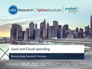 SaaS and Cloud spending