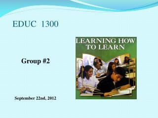 EDUC  1300
