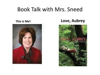 Book Talk with Mrs. Sneed