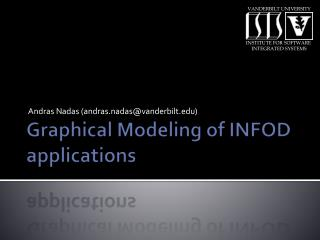 Graphical Modeling of  INFOD applications