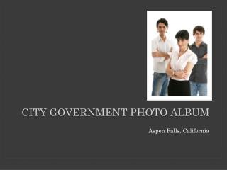 City Government  Photo Album