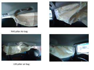 RHS  piller  Air bag