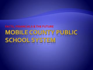 Mobile County public School system