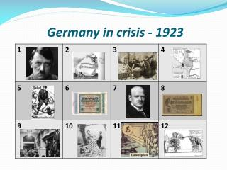Germany in crisis - 1923