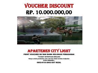 VOUCHER discount RP. 10.000.000,00