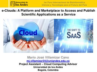 e-Clouds: A  Platform and Marketplace to Access and Publish Scientific Applications as a Service
