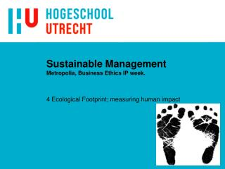 Sustainable Management Metropolia, Business Ethics IP week.