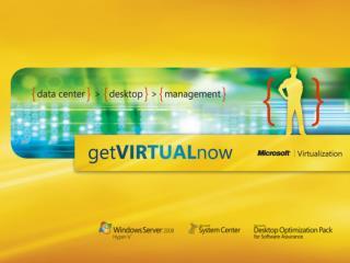 MS  App-V  4.5 Virtualizácia aplikácií