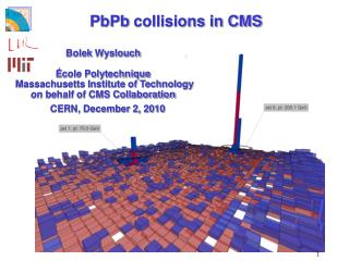 PbPb  collisions in CMS