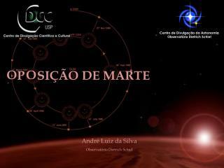 p     sição  de Marte