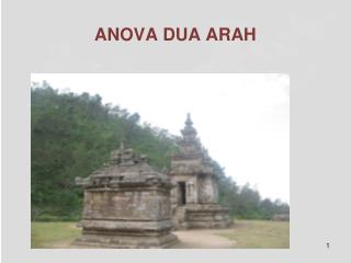 ANOVA DUA ARAH