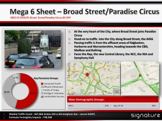 Mega 6 Sheet � Broad Street/Paradise Circus