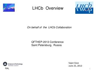 LHCb  Overview