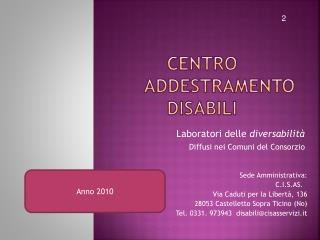Centro Addestramento Disabili
