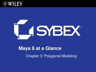 Chapter 3: Polygonal Modeling
