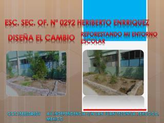 Esc. Sec. OF. N� 0292 HERIBERTO ENRRIQUEZ