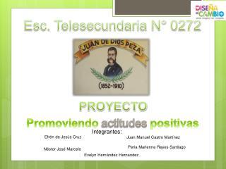 Promoviendo actitudes positivas