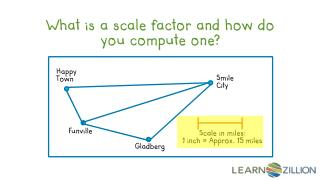 What is a scale factor and how do you compute one?
