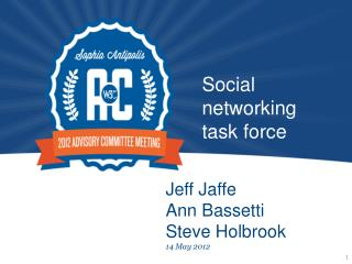 Social networking task force