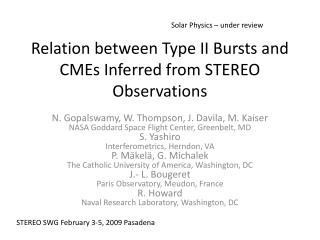 Relation between Type II Bursts and CMEs Inferred from STEREO Observations