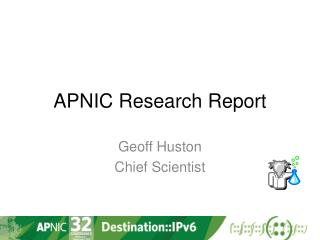 APNIC Research Report