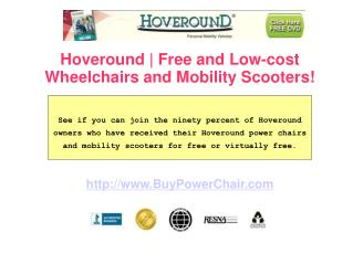 Hoveround - Affordability and Quality Entwined