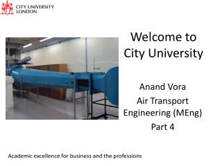 Welcome to City University