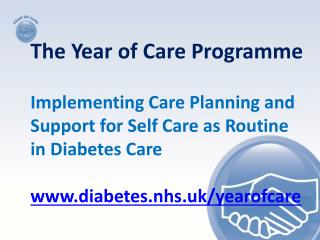 The Year  of  Care Programme