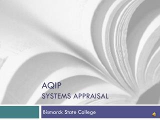 Aqip Systems appraisal