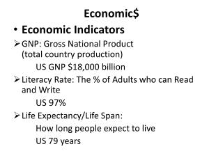 Economic$