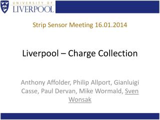 Liverpool – Charge Collection