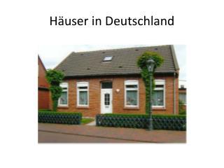 Häuser in Deutschland