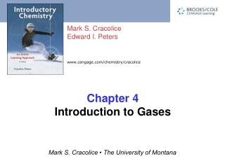 Chapter 4 Introduction to Gases