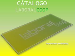 CÁTALOGO LABORAL COOP