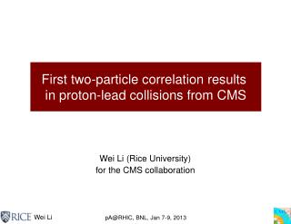 First two-particle correlation results  in proton-lead collisions from CMS
