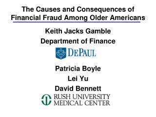 The Causes and Consequences of Financial Fraud Among Older Americans