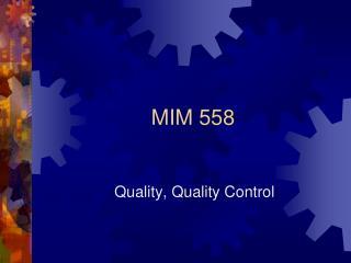 MIM 558